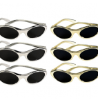Gold and Silver Sunglasses